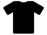 Simple Fashion Accessories  Black T-Shirt
