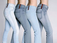 Classic Fashion Item - Faded Jeans